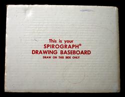 Original Spirograph Baseboard